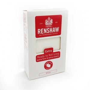 Πάστα Ζάχαρης Renshaw Extra Λευκό Marshmallow 1kg