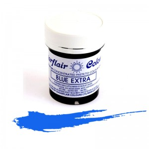 Πάστα Χρώμα Sugarflair Μπλε Extra 42g